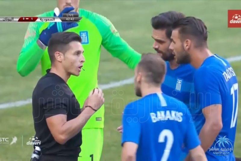 فيديو ملخص مباراة السعودية واليونان الودية
