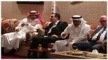سفير خادم الحرمين الشريفين بعمّان يحتفي بنائب الرئيس والعضو المنتدب للصندوق السعودي للتنمية