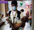 10 صور للكشافة السعودية تبرز أعمالهم في خدمة الحجاج