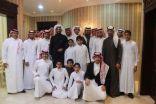 الهزاع تحتفل بعقد قران محمد