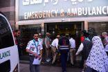 400 كشاف يساندون وزارة الصحة في مستشفيات المشاعر المقدسة