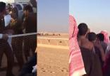 بالفيديو .. مشاجرة بين متسابقين في ميدان الفروسية بالقريات