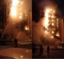 متحدث الدفاع المدني بمكة : هذه أسباب حريق محطة كهرباء الجميزة !!