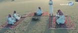 """شاهد بالفيديو .. هكذا عرض أهالي """" #الحناكية """" مشاكل محافظتهم على أمير المنطقة !!"""