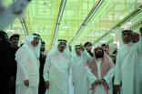 بالفيديو والصور : #الملك_سلمان يتفقد موقع حادثة سقوط الرافعة في الحرم المكي