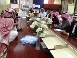 """أعضاء المركز الانتخابي """"580"""" بمحافظة طبرجل يعقدون اجتماعهم و يوزعون المهام بينهم"""