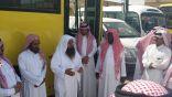 مدير تعليم وادي الدواسر يقف على خطة نقل الطالبات