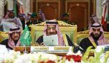 خادم الحرمين الشريفين يفتتح اجتماعات الدورة الـ 36 للمجلس الأعلى لقادة دول مجلس التعاون