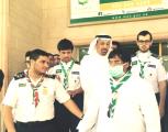 وزير الصحة يشيد بجهود كشافة  وجوالة رسل السلام