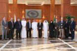 الهيئة الدولية للأعتماد الأكاديمي أيبت تطلع على البرامج الأكاديمية بجامعة الأمير محمد بن فهد