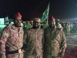 بالصور .. تكريم لواء الملك عبدالعزيز المنتهية مهمته في الحد الجنوبي