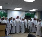 """ورشة عمل بعنوان """" إعداد وتنفيذ مشاريع التحسين """" بمستشفى الأمير سعود بن جلوي"""