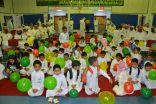 مدرسة عمار بن ياسر الابتدائية تستقبل طلابها المستجدين