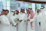 امين الرياض يتفقد مركز التحكم ومراقبة الأنفاق في العاصمة