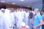 بالصور .. وزير الصحة يتفقد مستشفى الملك فهد وبن جلوي بالأحساء