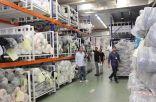 الحملة الوطنية السعودية تتابع عمليات شحن المواد الاغاثية المُصنعة في الصين وتركيا