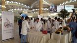 بالصور .. حملة صحية في صالات  مطار الملك خالد الدولي بالرياض