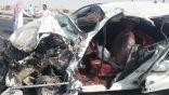 #الأحساء : شاهد بالصور .. مواطن ينجو بأعجوبة من حادث مروع