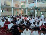 """بالصور .. توعية 120 طالب عن فايروس """" كورونا """" بالاحساء"""