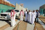 الجبير زار الخبر وأطلع على مشروعي نفق الملك عبدالله ومبنى البلدية الرئيسي