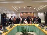 وفد الشعبة البرلمانية للإتحاد الكشفي للبرلمانيين العرب يجتمعون في القاهرة