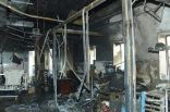 بالصور .. 25 قتيلا و 107 مصابين في حريق #مستشفى جازان صبح اليوم
