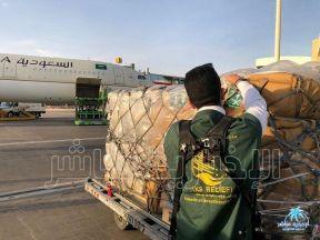 مركز الملك سلمان للإغاثة يُسيّر أولى طلائع الجسر الجوي السعودي الى #لبنان