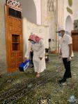"""""""الشؤون الإسلامية"""" تباشر تعقيم مسجد قباء بالمدينة المنورة بالأوزون"""