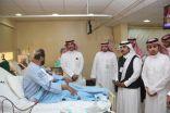 نائب وزير الصحة يتفقد مستشفى حوطة سدير بسعة (  150 ) سرير