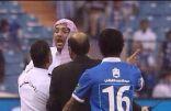قرار بمنع عضو شرف النصر عبدالعزيز بن عبدالرحمن من دخول الملاعب لمدة عام كامل