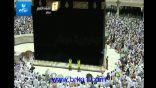 """بالفيديو .. الشيخ """" سعود الشريم """" يلقي ابيات مؤثرة اثناء خطبة صلاة الجمعة"""