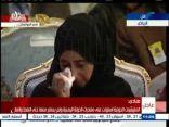 بالفيديو .. يمنية تبكي أثناء كلمة الرئيس هادي في مؤتمر إنقاذ اليمن بالرياض