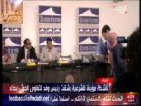 بالفيديو .. تعرض رئيس الوفد الحوثي للضرب بحذاء