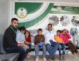 158 لاجئاً سورياً استفادوا من البرامج التي تقدمها وحدة الدعم في العيادات