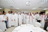 بالصور ..  وفد من ذوي الاحتياجات الخاصة بجامعة الملك سعود  في ضيافة ذوي الإعاقة بالأحساء