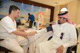 انطلاق حملة التبرع بالدم للمجلس البلدي بحاضرة الدمام