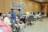 بالصور .. تسابق وابتسامات بالمجان والحليلة ميدان وعنوان في حملة التبرع بالدم