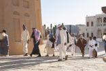 العسة تقدم الاستعراضات العسكرية والاهازيج الوطنية في بيت الخير