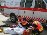 حادث مروري يصرع أمرأة وزجها ونجاة طفليهما بالرياض