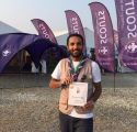 """الملحم أول الحاصلين السعوديين على وسام """" من أجل علم أفضل """"  بالجامبوري العالمي"""