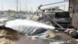 #الأحساء : نشوب حريق ثانٍ في محطة وقود خلال أقل من أسبوع
