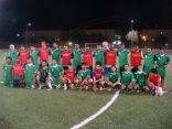 مبارة لكرة القدم بين متقاعدي الأحساء والخدمات الترفيهية في أرامكو