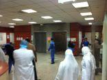 بالفيديو والصور .. في أقل من عامين : تسرب مياه بمبنى طوارئ مستشفى الملك فهد بالهفوف .. من المسؤول ؟!