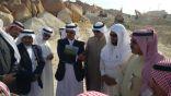بالصور .. بلدي الأحساء يختم دورته بوضع حجر الأساس لتطوير سوق الأحد بالقاره