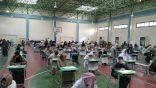"""بالصور .. مدرسة """" ابي فراس الحمداني """" بالمراح تستقبل طﻻبها في اول ايام اﻻمتحانات"""