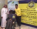 أعضاء مجلس جمهور نادي النصر يوزعون الحقيبة الشتوية لمستفيدي بر الصالحية