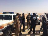 فرقة السلام السعودي للبحث واﻻنقاذ تبحث عن مفقود بوادي الدواسر