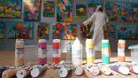 """"""" الأمير """" يستنهض روح الإبداع في التصوير التشكيلي لدى طلاب برامج التربية الخاصة"""