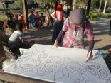 جدارية السلام يبدأها الأيتام بمشاركة ريهام السنباطي في يوم اليتيم