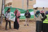 الحملة الوطنية السعودية تواصل مشروع كسوة الشتاء ( شقيقي دفئك هدفي  3 )